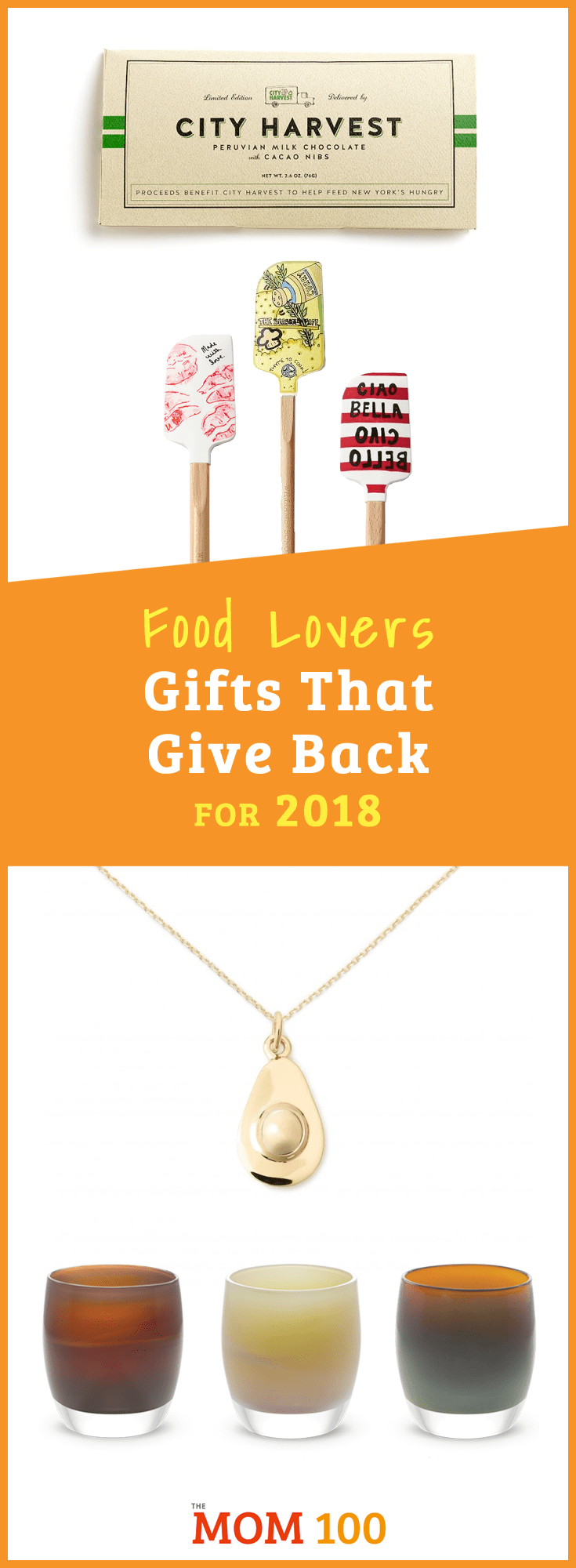 The following food-related gifts are not only sure to make the beneficiaries happy, but also benefit some very worthy charities.  Stock up for the holidays!