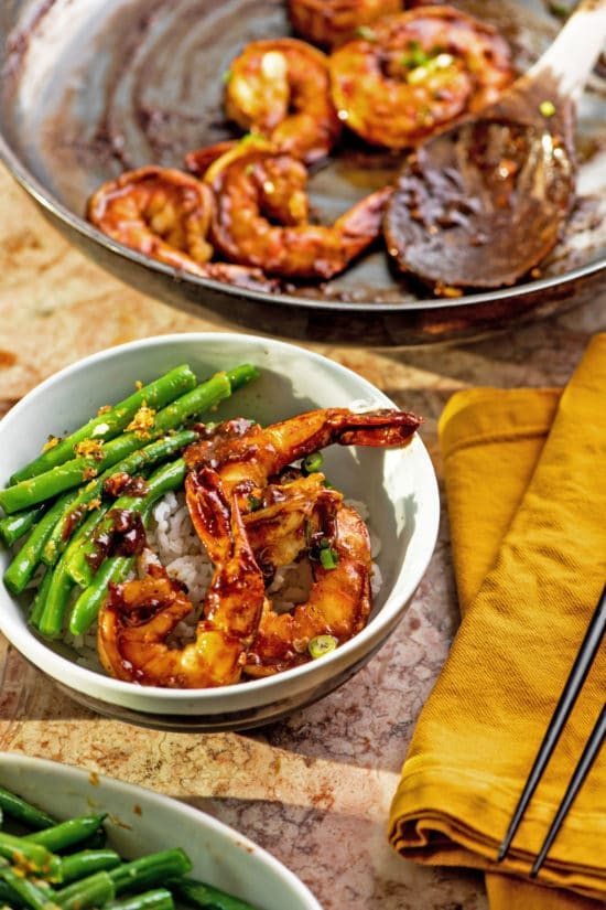 15-Minute Hoisin Shrimp