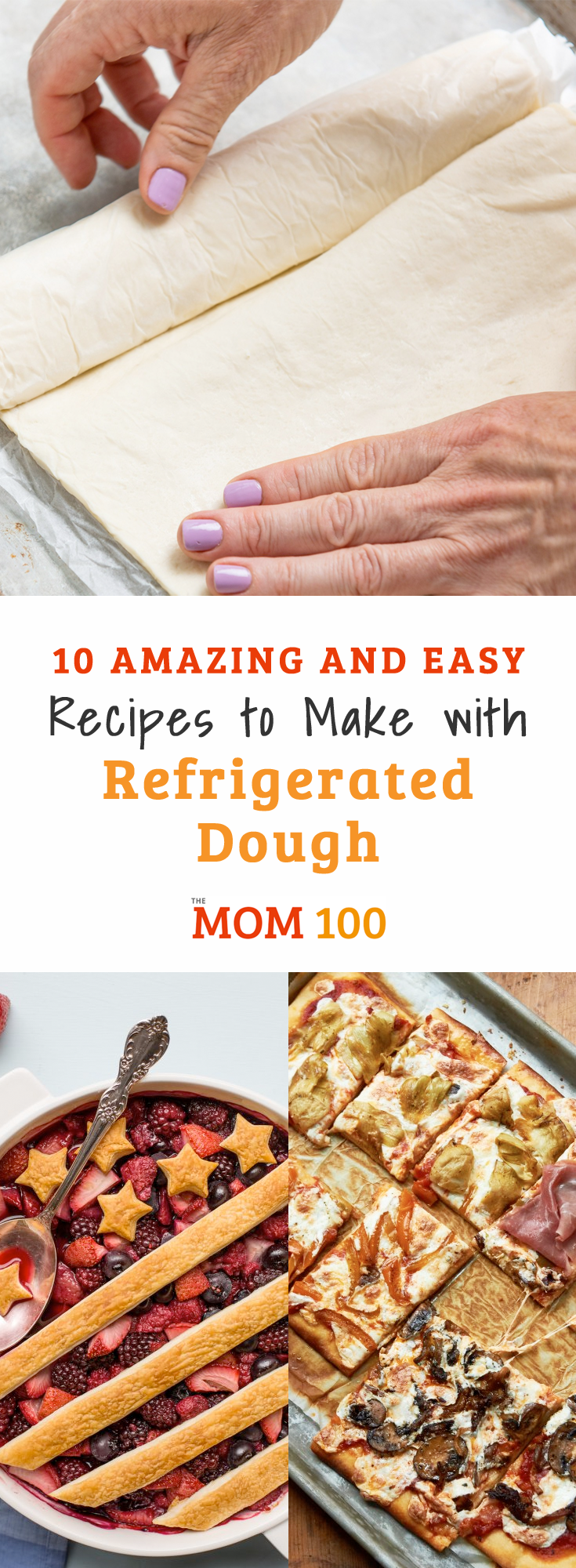 10 Amazing and Easy Recipes to Make with Refrigerated Dough: Biscuit dough, pizza dough, puff pastry...10 things you can make with these great shortcut doughs.