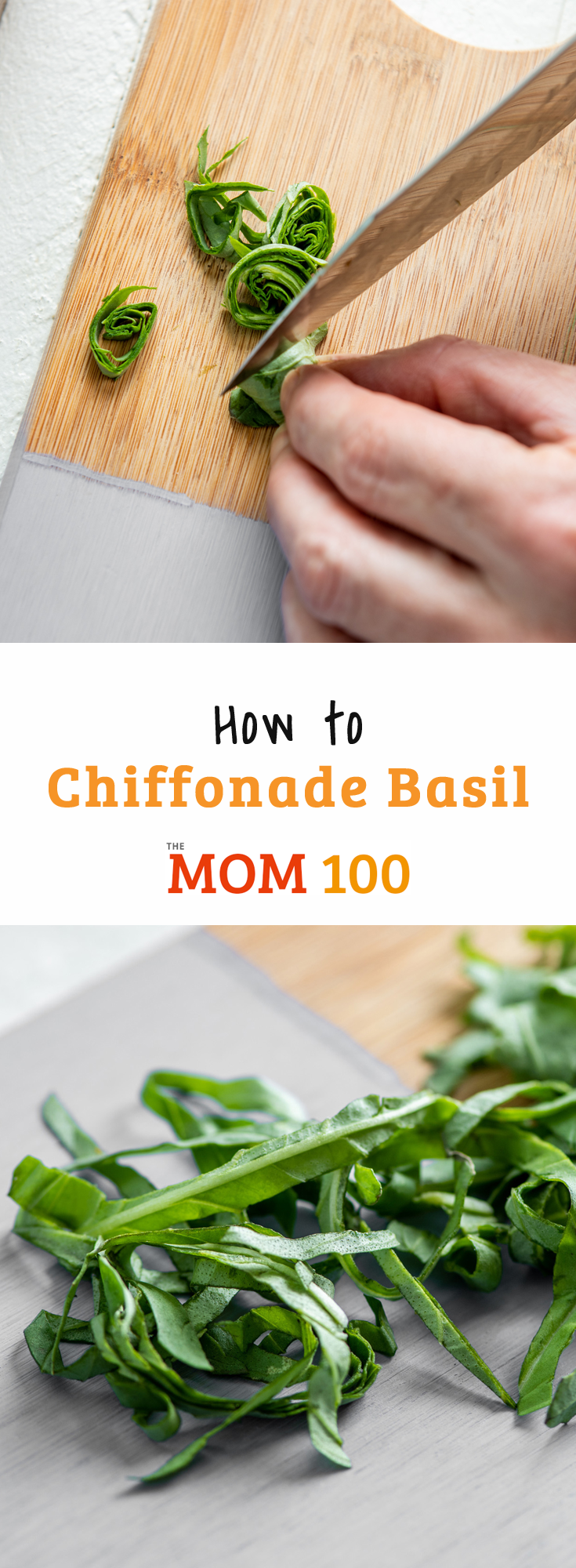 How to Chiffonade Basil: Everything you need to know about chiffonading basil and other herbs and lettuces -- including what chiffonade means!