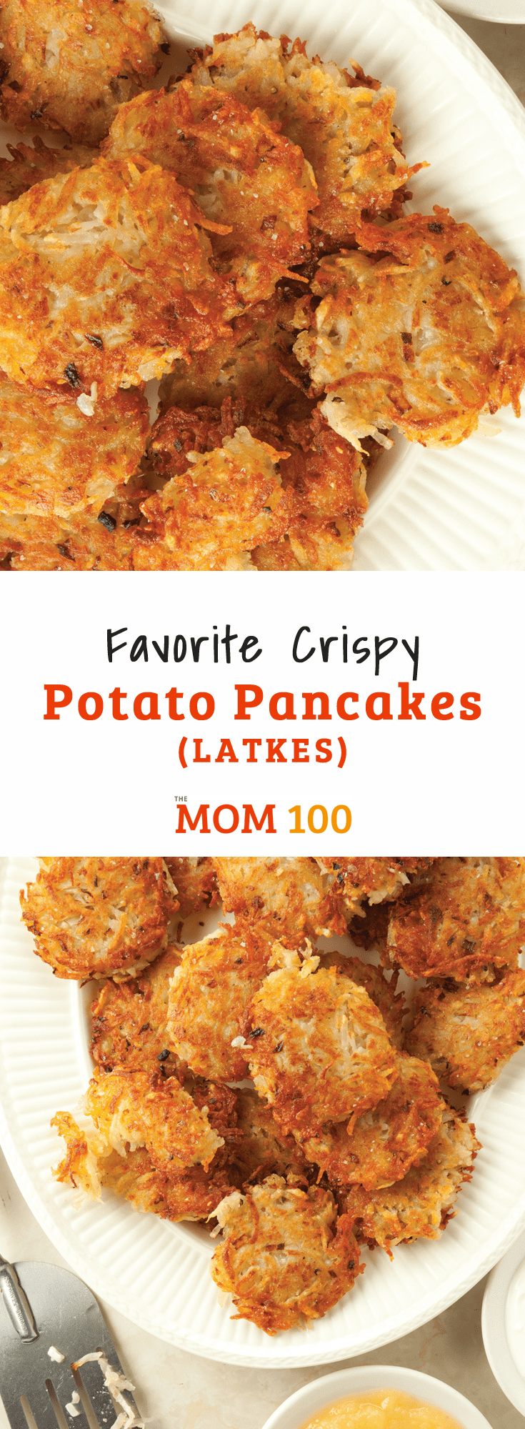 Our Favorite Crispy Potato Pancakes (Latkes): It\'s not Hanukah without a batch or two of these delicious potato pancakes (but they are amazing all year round as well!)