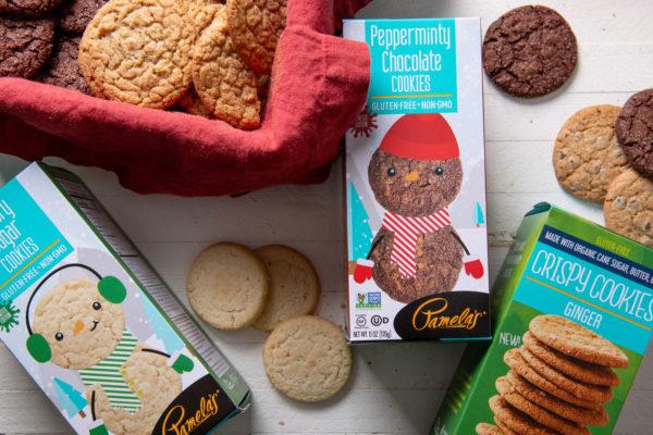 Assortment of Pamela's Gluten-Free Cookies