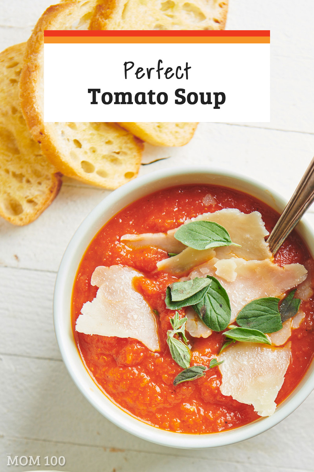 Perfect Tomato Soup: There are lots of ways to season up a good tomato soup, but sometimes you just want the classic—bursting with tomato flavor, silky smooth, and not complicated by much else. This is that soup. #vegan #vegetarian #glutenfree #gf