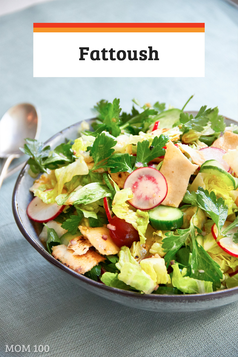 One of the amazing dishes that appears on the table during Ramadan is Fattoush, a salad with a flatbread (like pita), tomatoes, and cucumbers, and we all need to b ring this into our lives.