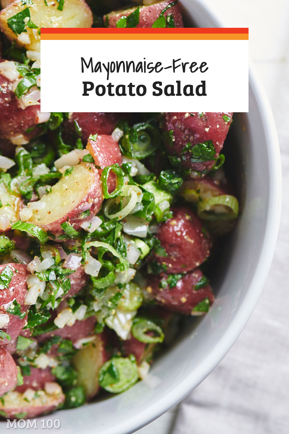 Best Mayonnaise Free Potato Salad: Sometimes you just want a great potato salad without the mayo - this one has classic flavors and comes together in 20 minutes.