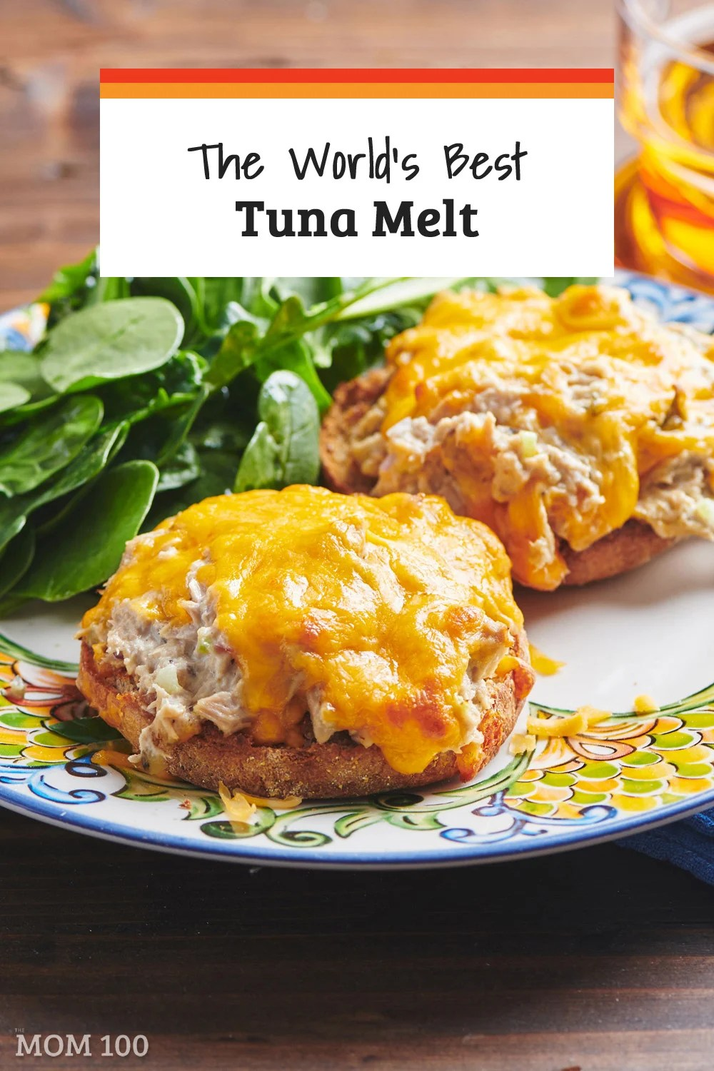The World's Best Tuna Melt: Start with great tunafish salad, pile it onto a toasted English muffin, top with cheese and broil for one of the best sandwiches ever.