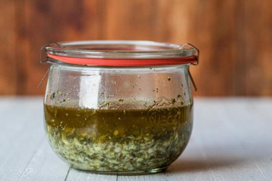 Ginger, Mint, and Lime Marinade