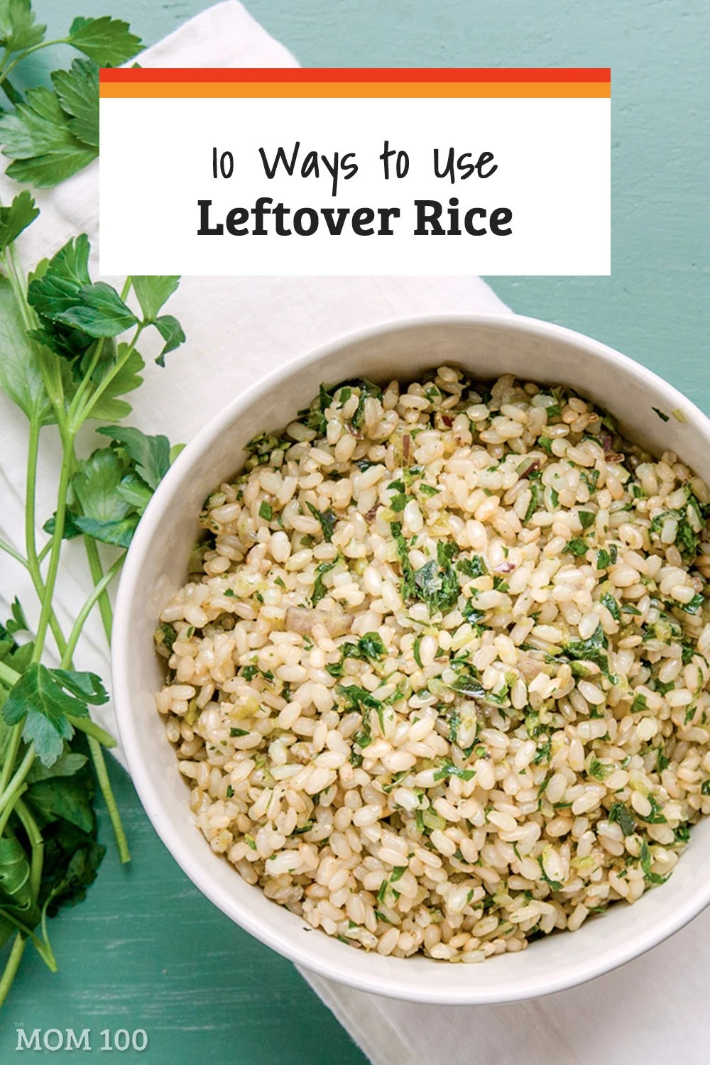 10 Ways to Use Leftover Rice / Extra rice has so many potential uses, you'll be glad to have leftovers hanging out in the fridge. Here are 10 ways to use leftover rice. #leftovers #leftoverrice #rice