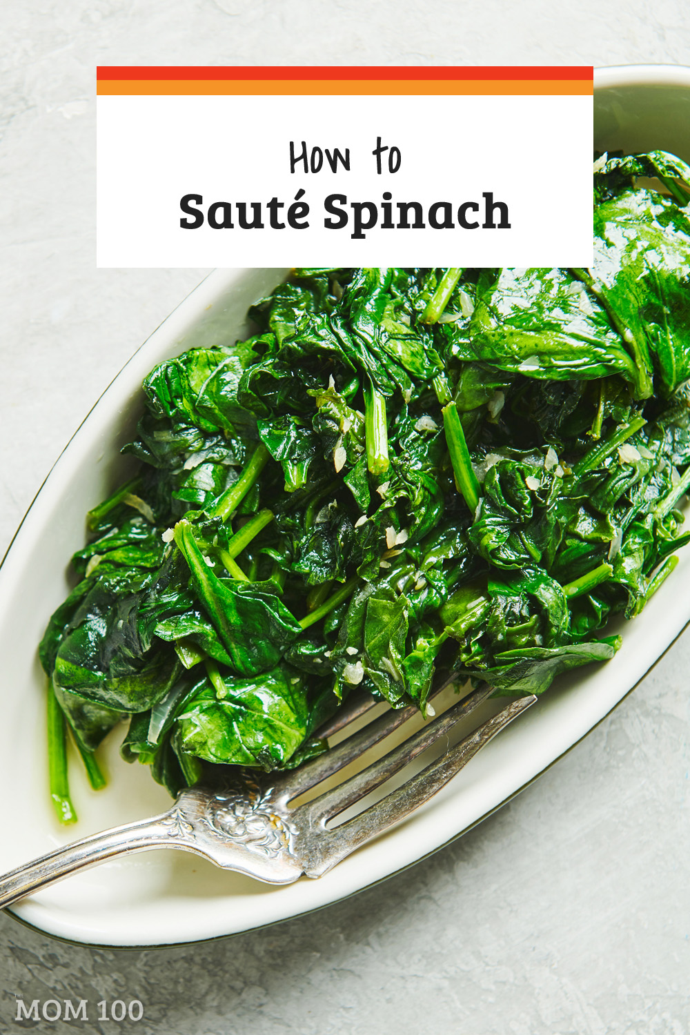 How to Make Sautéed Spinach: Making sautéed spinach is so easy, and it\'s a colorful, versatile, nutritious and delicious side dish for any night of the week.