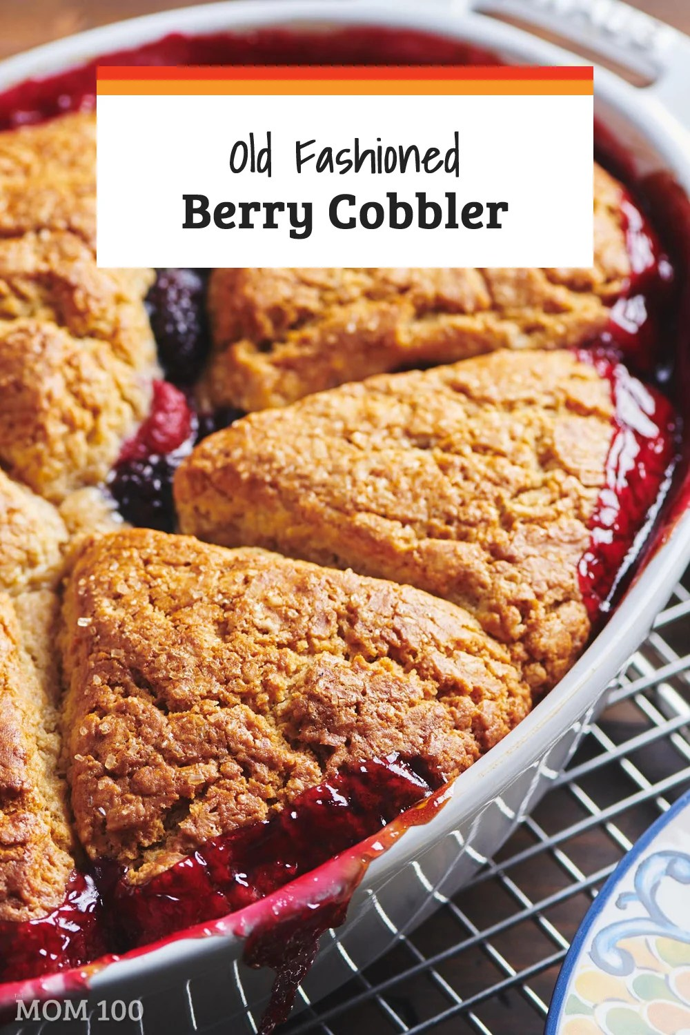 Old Fashioned Berry Cobbler: This berry cobbler recipe is the height of summer indulgence and a beautiful finale to any festive dinner.