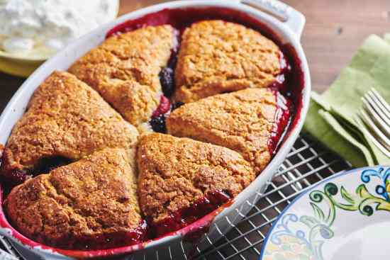 Old Fashioned Berry Cobbler