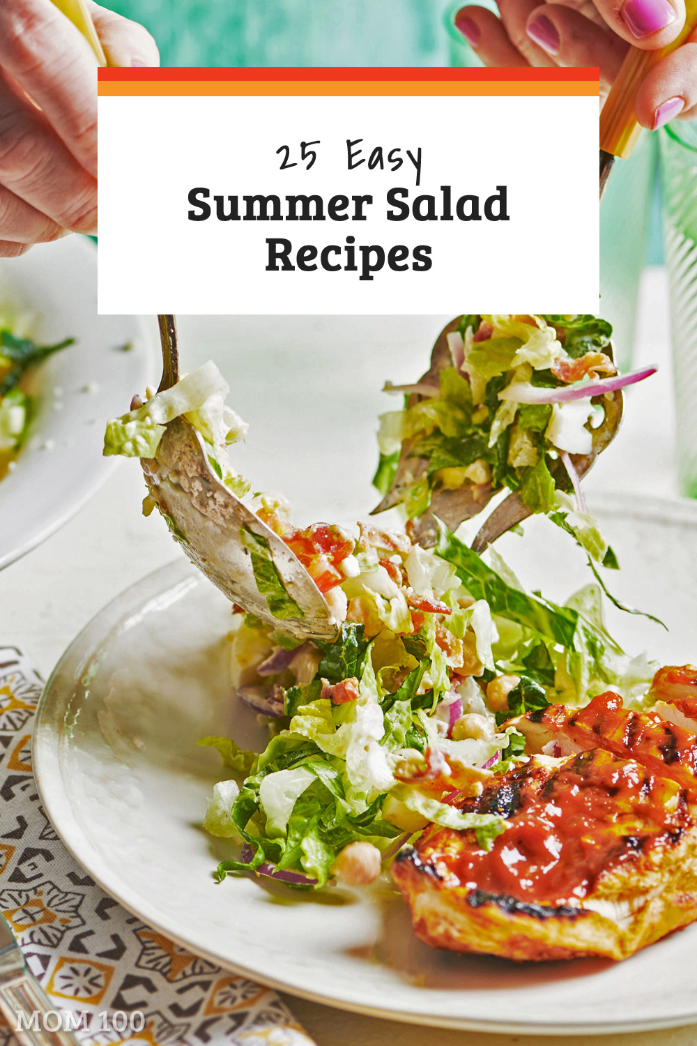 25 Easy Summer Salad Recipes: Salad recipes and inspiration for the warm months—from main dish salads to side salads, this collection of recipes has you covered. #summer #salad #healthy