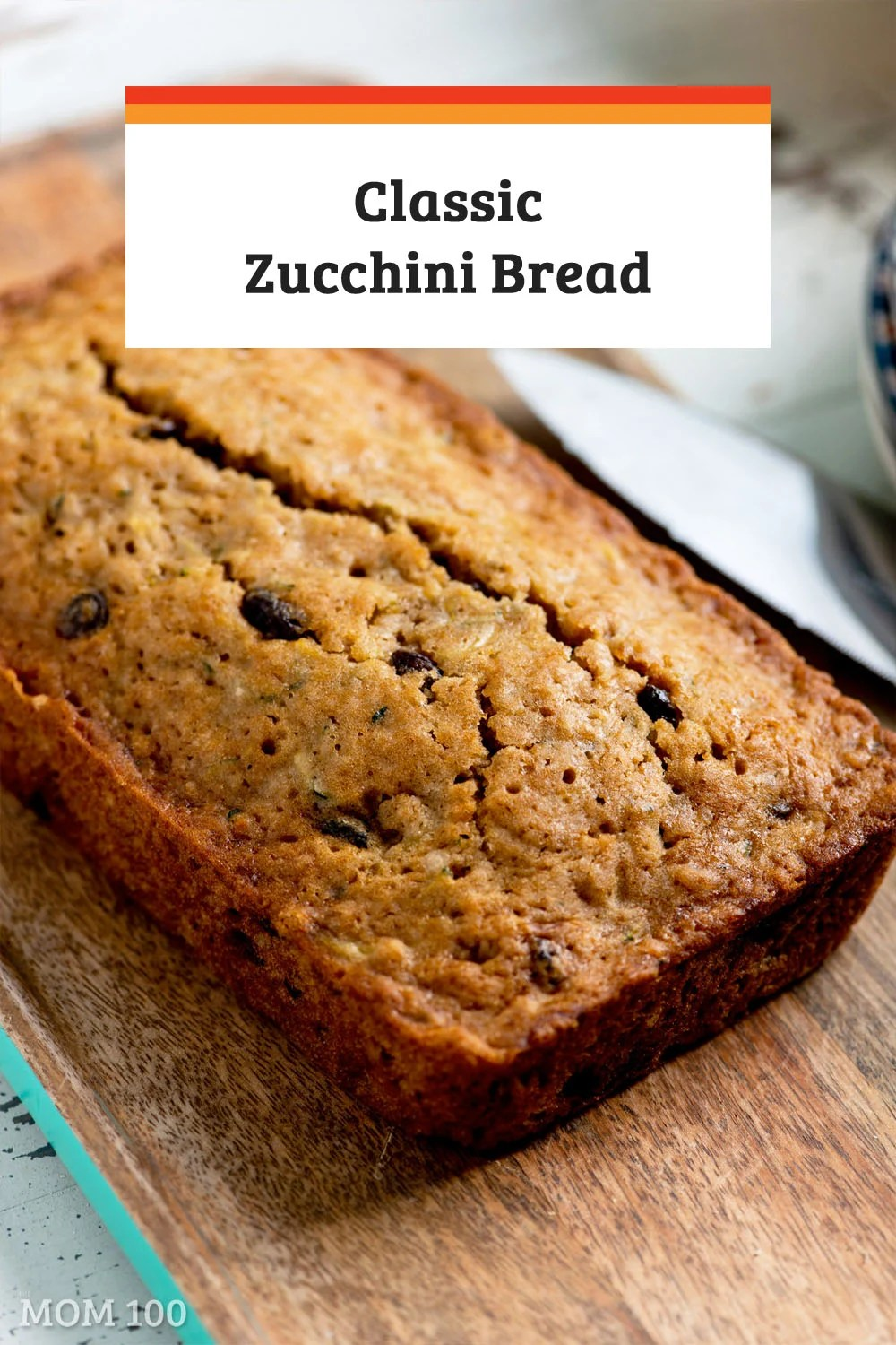 Classic Zucchini Bread: This recipe proves there is no such thing as too much zucchini. So easy and moist—and ready to pop into the oven in less than 15 minutes! Recipe makes 2 loaves or 24 muffins. #baking #quickbread #zucchinibread #muffins #breakfast