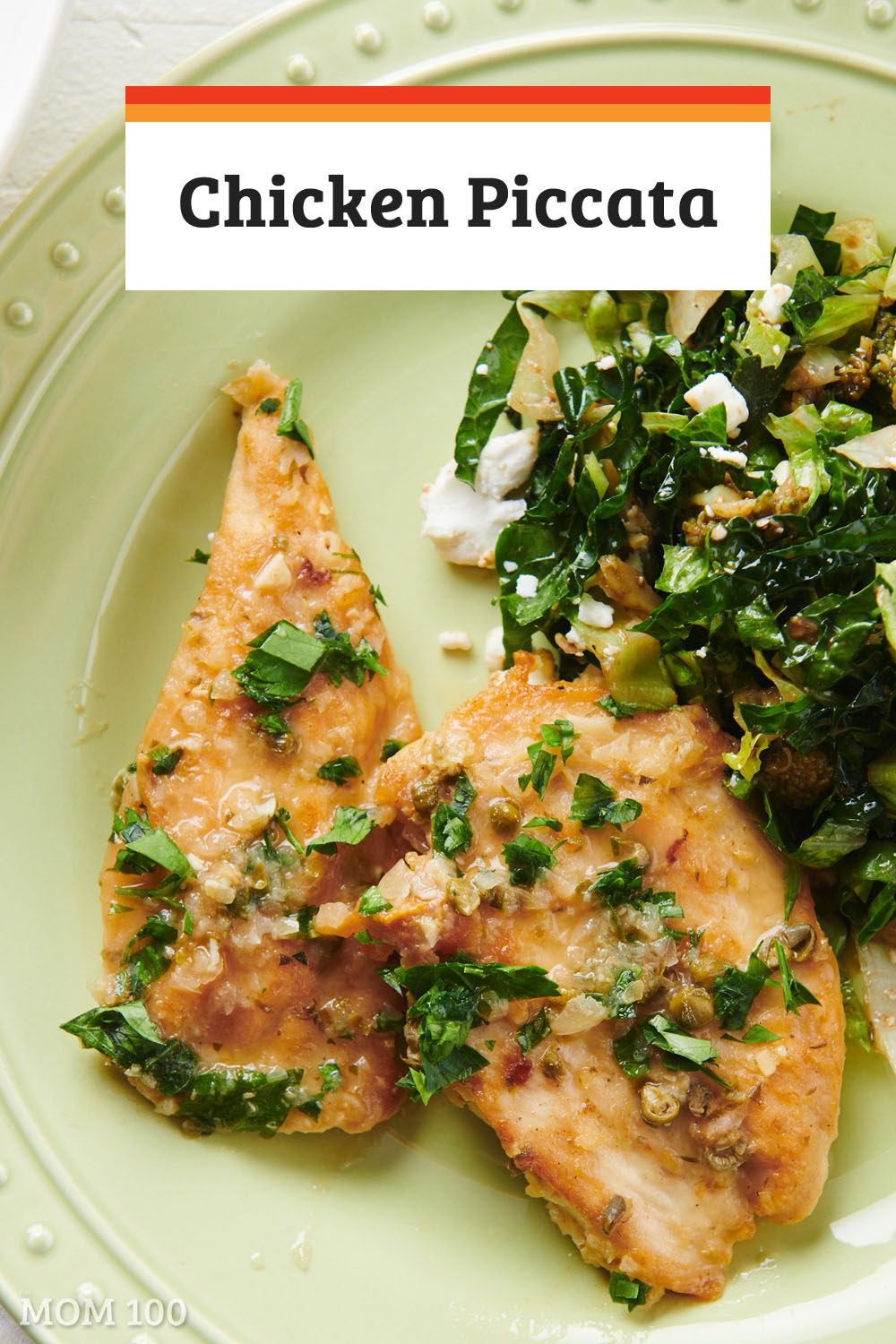 Chicken Piccata: In its lemony light sauce, chicken piccata is seriously one of the best chicken breast dinners in the world.  Easy, pretty, and weeknight-friendly. #chicken #dinner