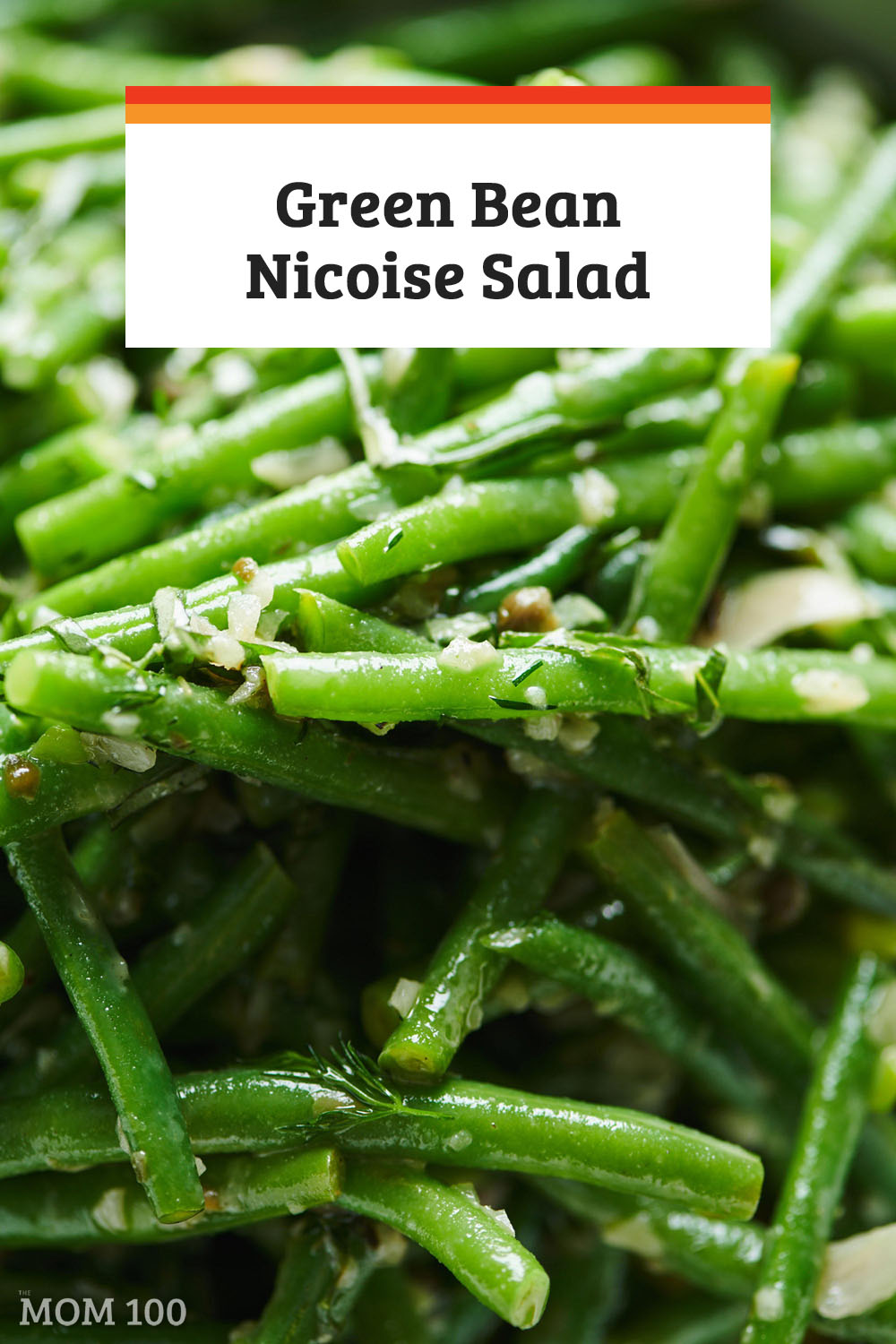Green Bean Nicoise Salad: Capers, shallots, Dijon, olives, sherry vinegar, fresh herbs -  it's really a vinaigrette on steroids. #greenbeans #haricotverts #sidedish