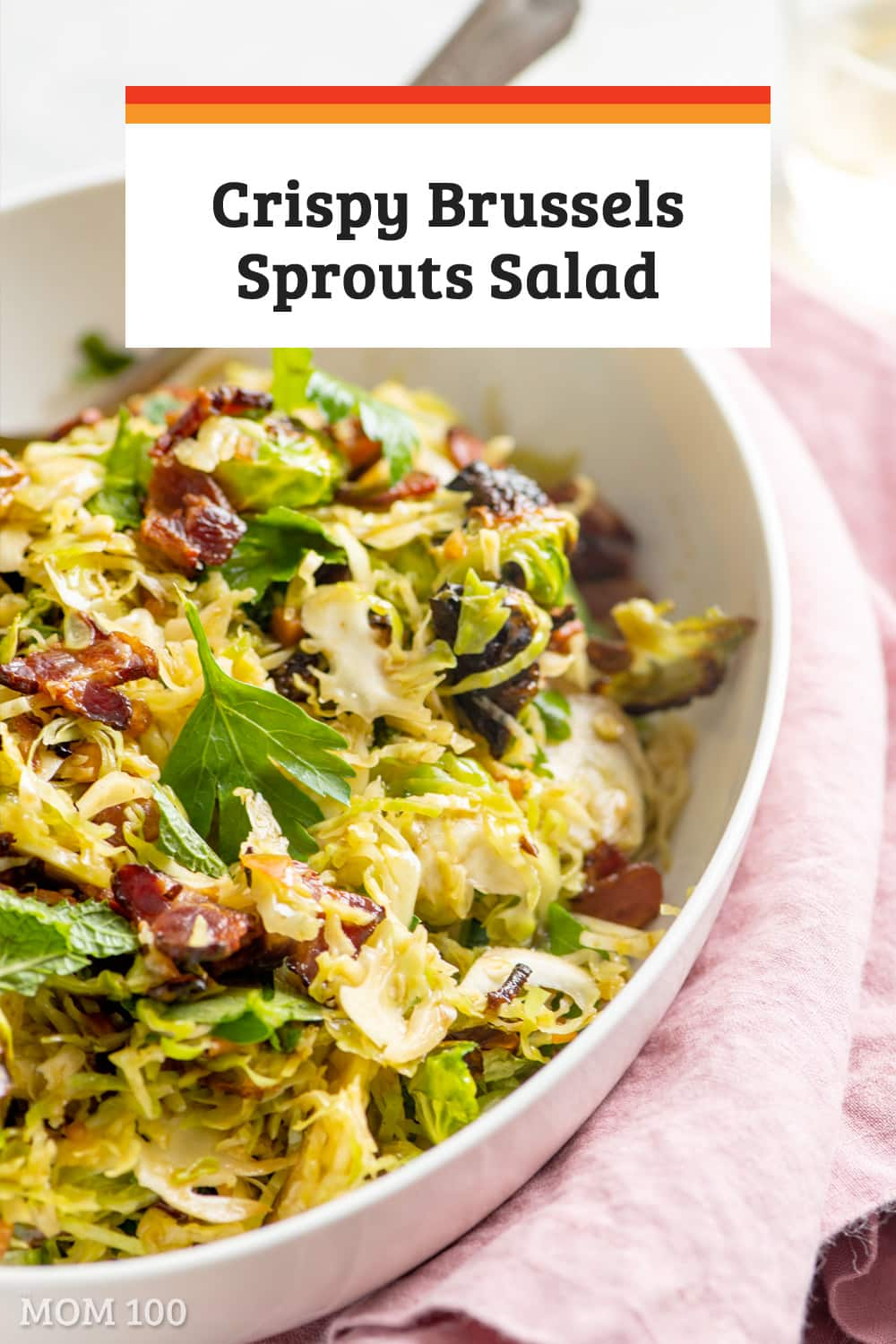 Alex Guarnascelli\'s Crispy Brussels Sprouts Salad is a sophisticated but not at all complicated Brussels sprout dish that is pretty close to divine.