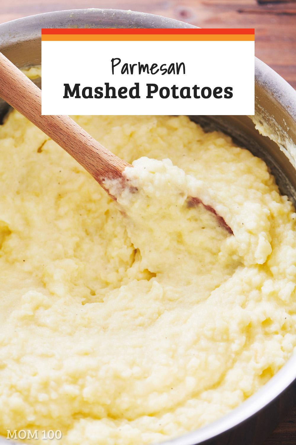 Parmesan Mashed Potatoes: Classic mashed potatoes get a little more personality and flavor with the addition of a little Parmesan cheese.  This is the ultimate comfort food.