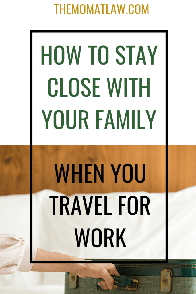 Guest Post: How To Stay Close With Your Family When You Travel For