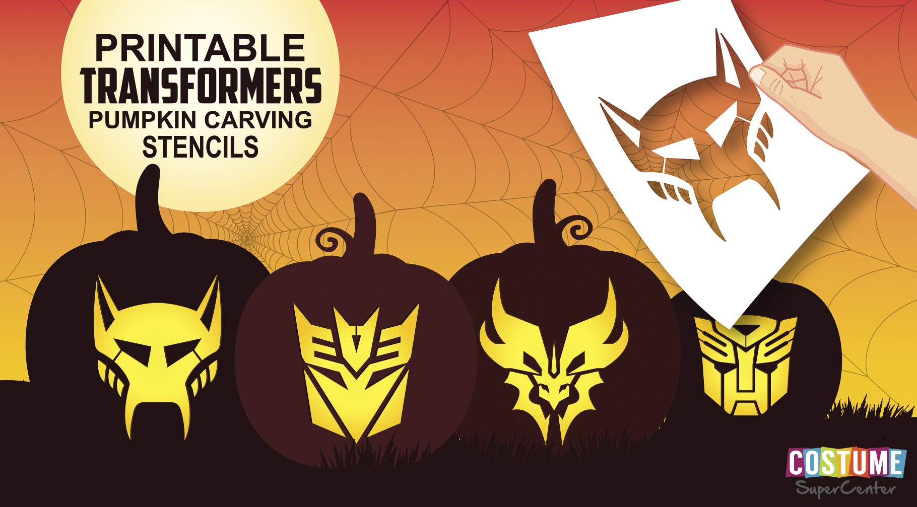 Free Pumpkin Carving Stencils Your Kids Will Love