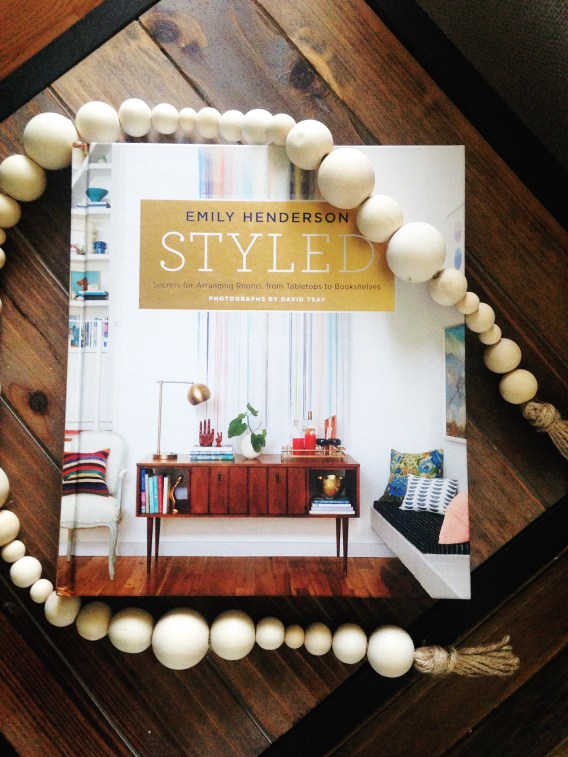 Styled and Wooden Bead Garland