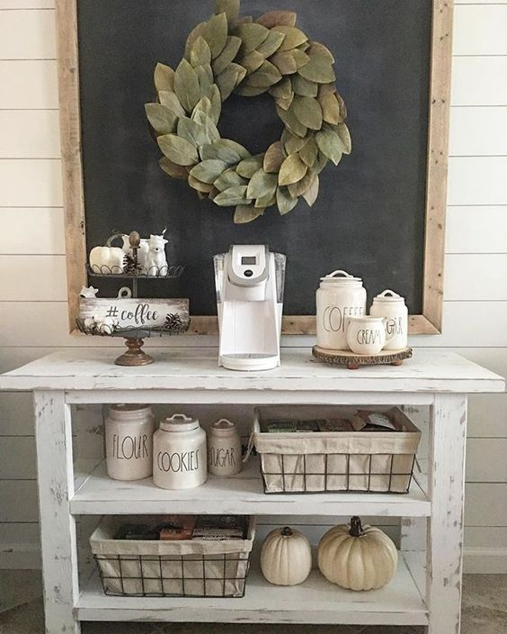 farmhouse-coffee-bar