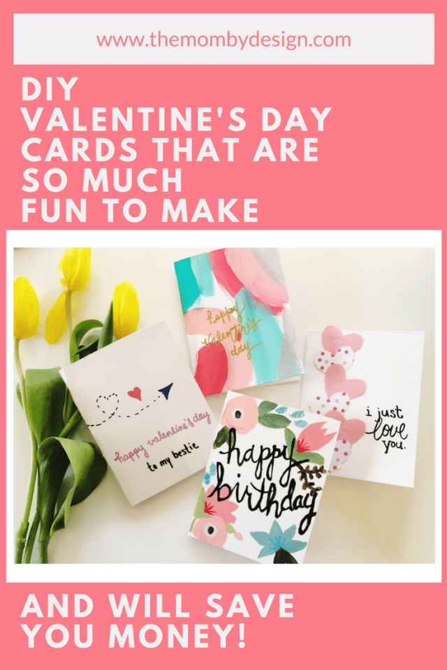 diy valentines day cards