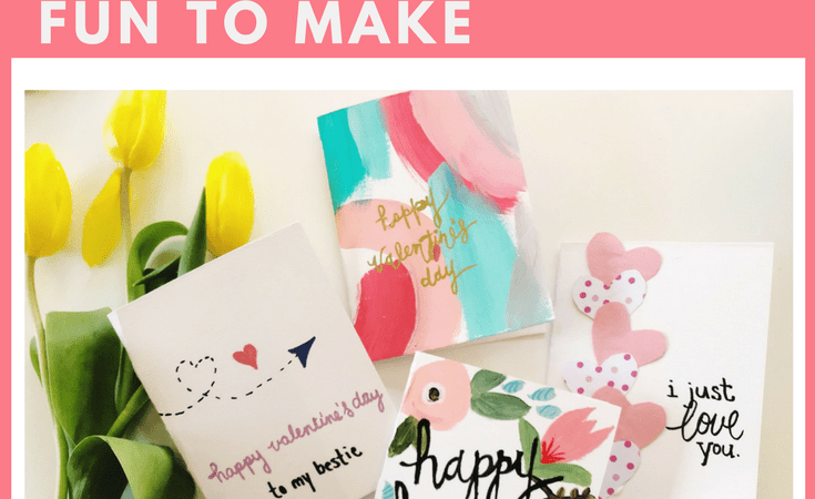 Easy DIY Valentine Cards that are so fun to Make!