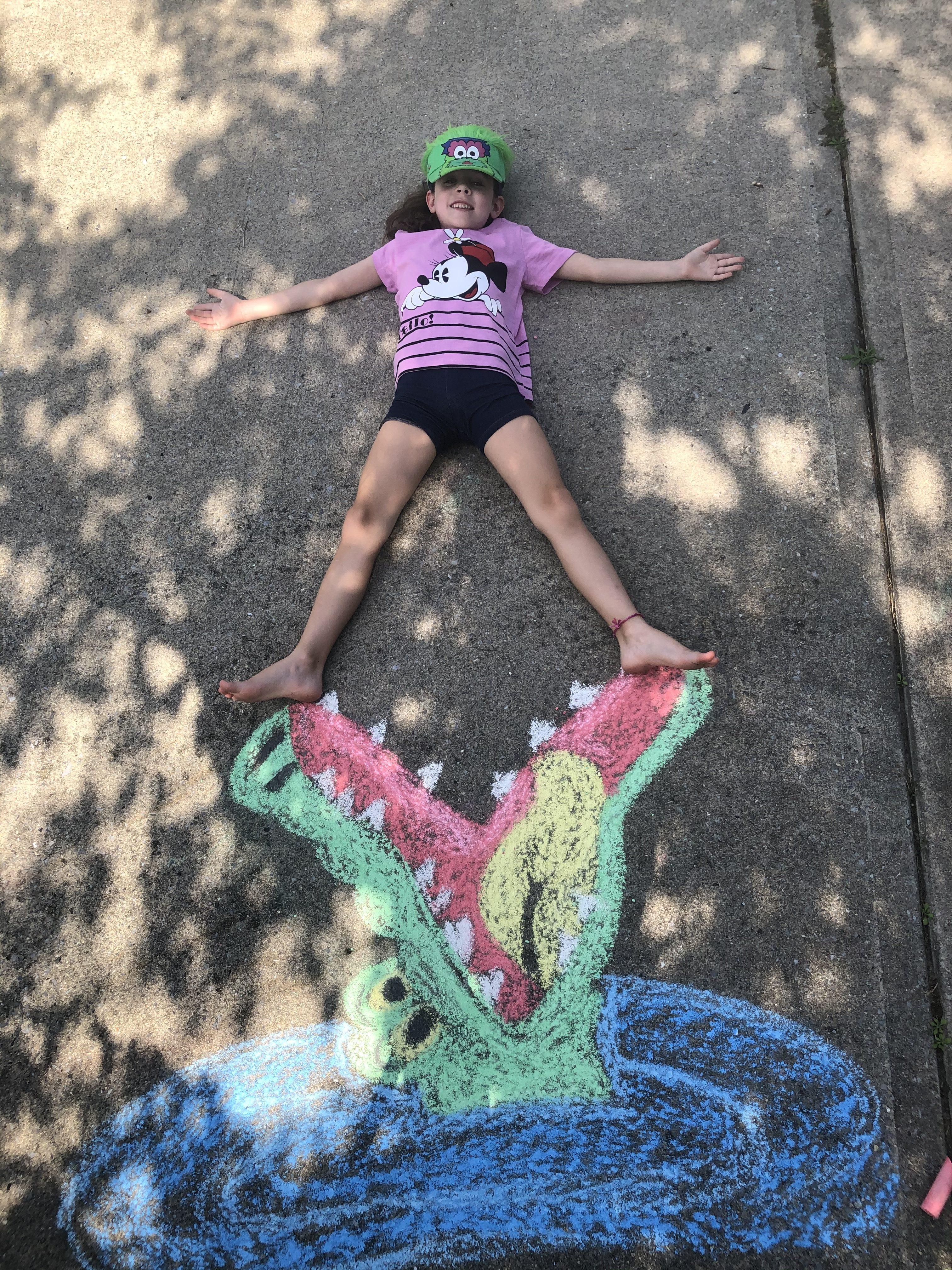 Riley Sidewalk chalk