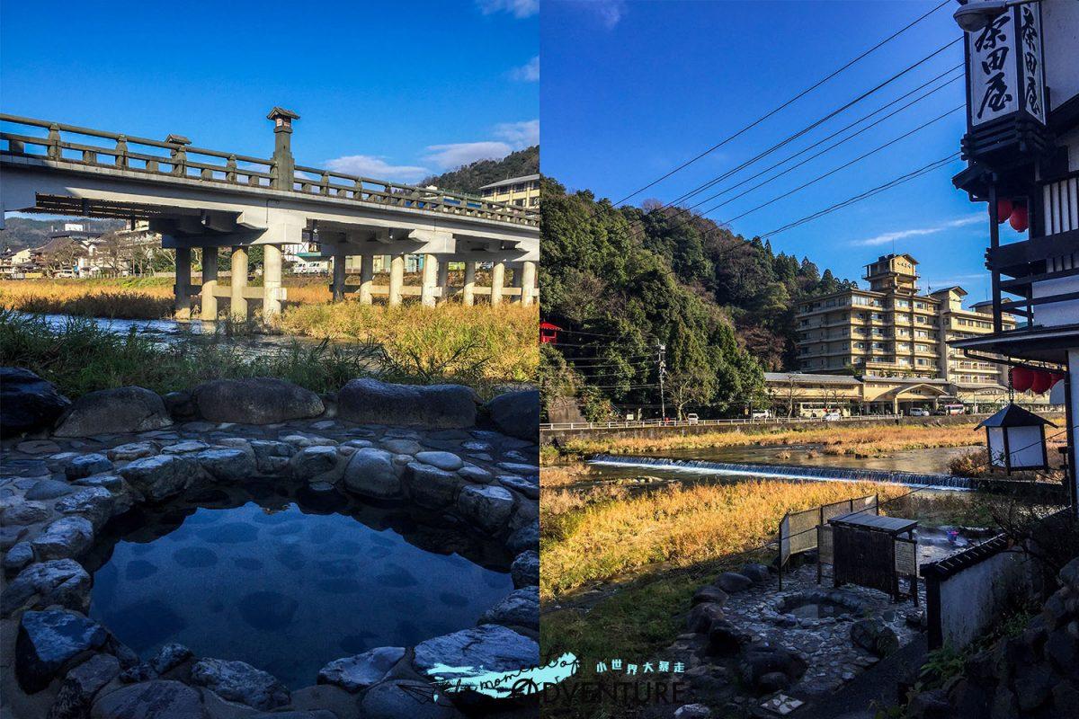 日本鳥取療癒系名湯三朝溫泉