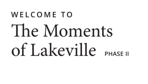 The Moments of Lakeville - Phase II