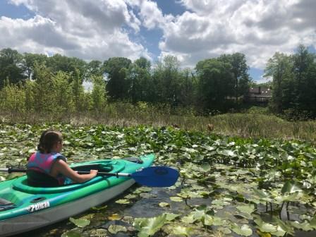 All In Weekend My Girl kayaking