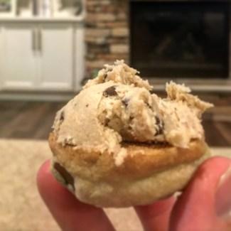 Co-Parenting Experiment cookie dough