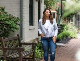 Look of the Day: The Linen Moto Jacket