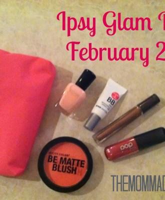 Ipsy Glam Bag – February 2014
