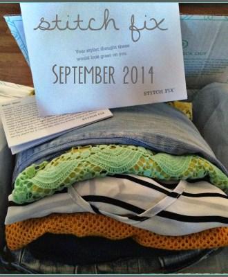 Stitch Fix September 2014