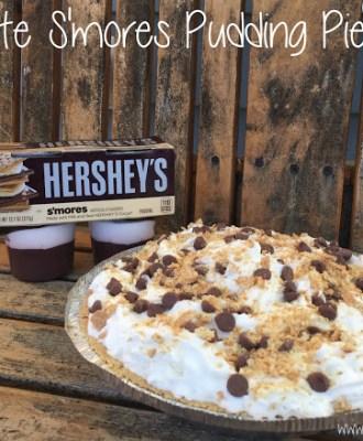 Chocolate S'mores Pudding Pie Recipe