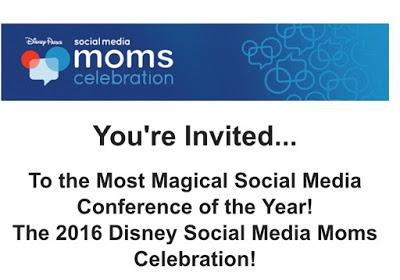 Disney Social Media Moms Invite