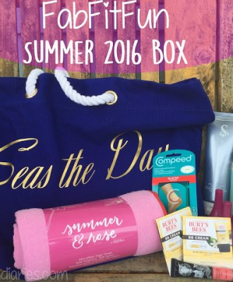 FabFitFun Summer 2016 Box – Review & Promo Code!