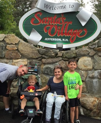 "Santa's Village — ""Pure Joy. Family Style."""