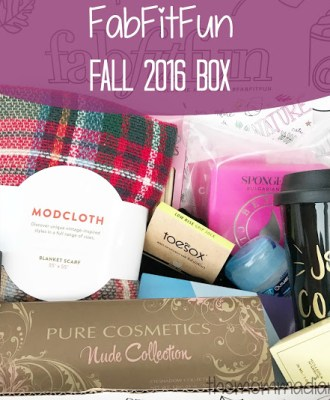 FabFitFun Fall 2016 Box – Review & Promo Code!