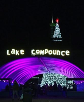Holiday Lights at Lake Compounce!