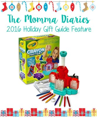 Crayola Crayon Factory — 2016 Holiday Gift Guide Feature