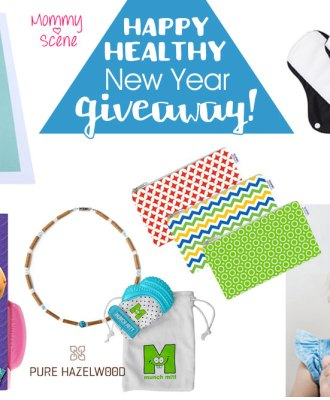 Happy Healthy New Year Giveaway!