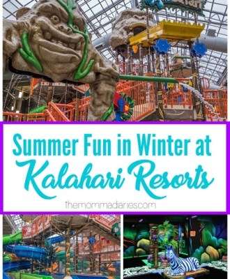 Bring Summer Fun to the Middle of Winter at Kalahari Resorts!
