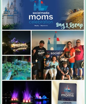 2017 Disney Social Media Moms Celebration: Day 1 Recap
