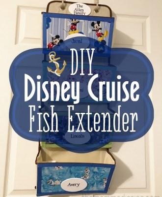 DIY Disney Cruise Fish Extender