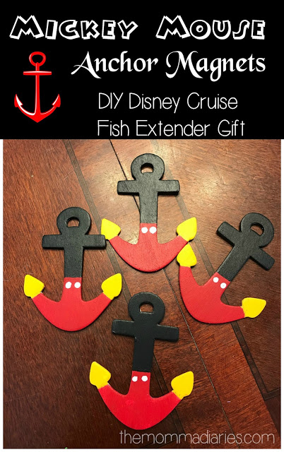 graphic regarding Mickey Anchor Printable identify Do-it-yourself Disney Cruise Line Mickey Mouse Anchor Magnets - Fish