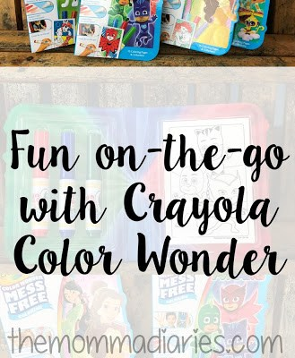 Fun On-the-Go with Crayola Color Wonder