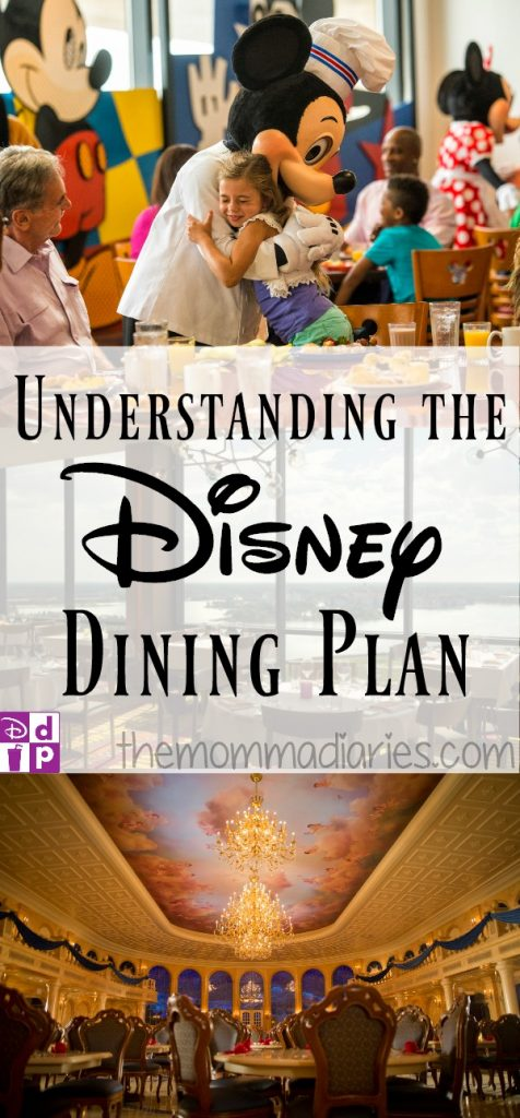 Understanding the Disney Dining Plan