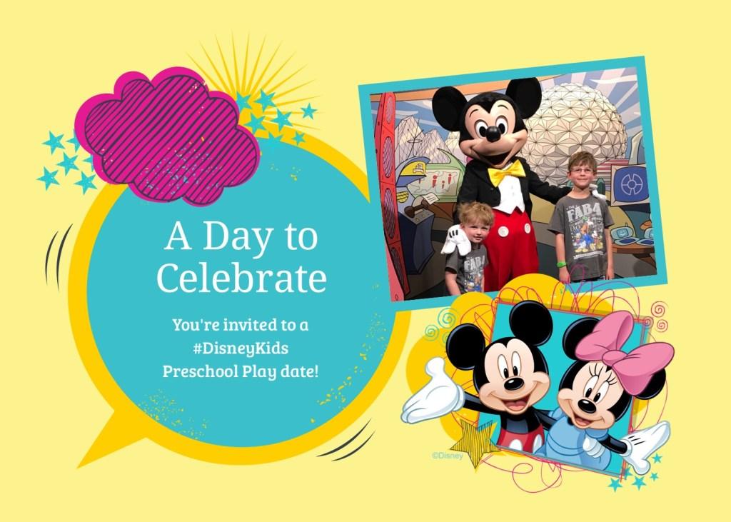#DisneyKids Preschool Playdate Invite